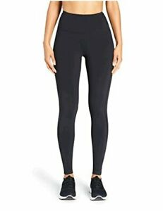 Brand - Core 10 Women's Onstride High Waist Run, Black, Size Small