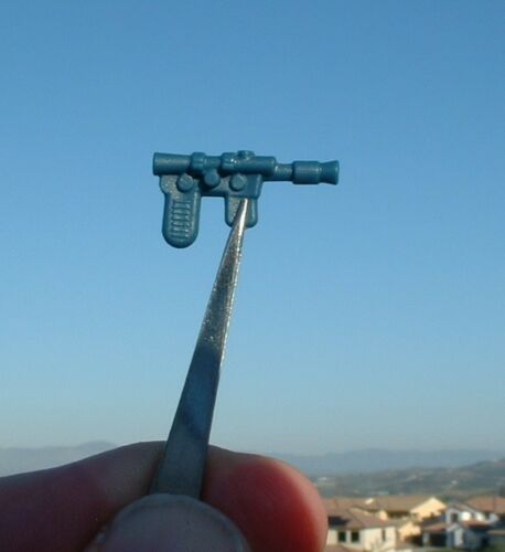 "NICE 1/"" REPRO BLUE Han Solo Weapon 1980 Luke Bespin Vintage Star Wars FLOATS A"