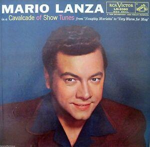 Vintage-Mid-Century-Mario-Lanza-RCA-LM-2090-Red-Seal-Record