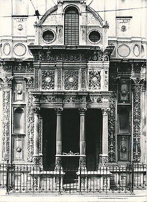 Ambitieus Italie C. 1950 - Façade De L'Église Santa Maria Dei Miracoli Brescia - P 1398 Modern Ontwerp