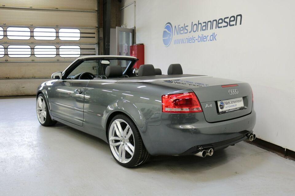 Audi A4 3,0 TDi 233 Cabriolet quat. Tiptr. Diesel 4x4 aut.