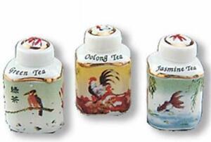 Reutter Porcelain Dollhouse Miniature Floral Filled Umbrella Holder
