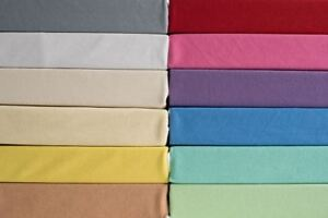 Jersey Fitted Sheet 100% Cotton Fits Baby Crib,Cot,Cotbed,Junior Bed Mattress