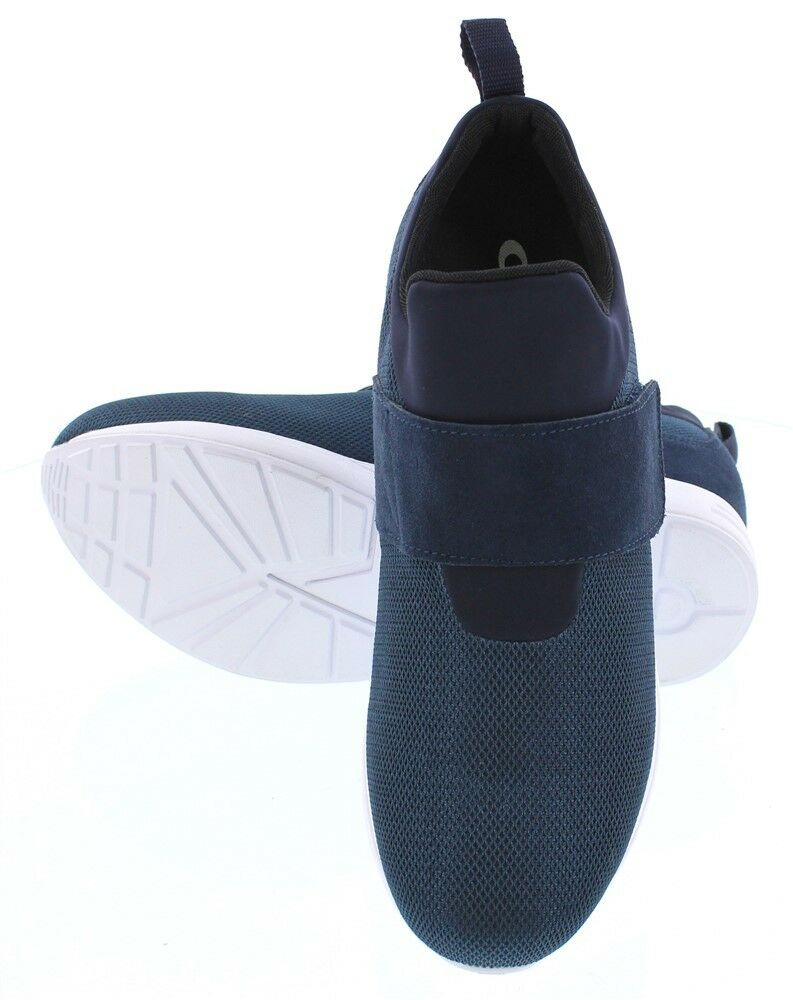 CALTO H7198 - 3 Inches Elevator Height Increasing Convenient Convenient Convenient Strap Blue Sneaker 925e3b