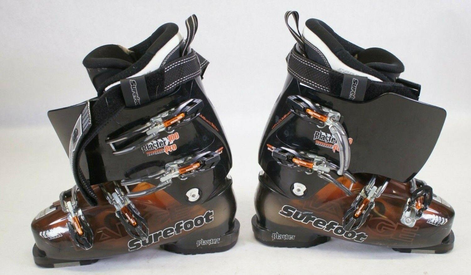 Lange Blaster 100 Pro Surefoot Contoure Ski Stiefel Größe  26.5 310mm