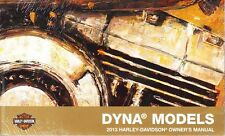 2013 Harley Dyna FXD Super Wide Glide Low Rider Owner's Owners Owner Manual
