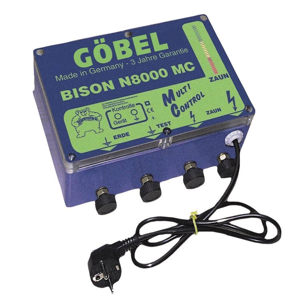 Bison N 8000 MC, fort-enclos vlp