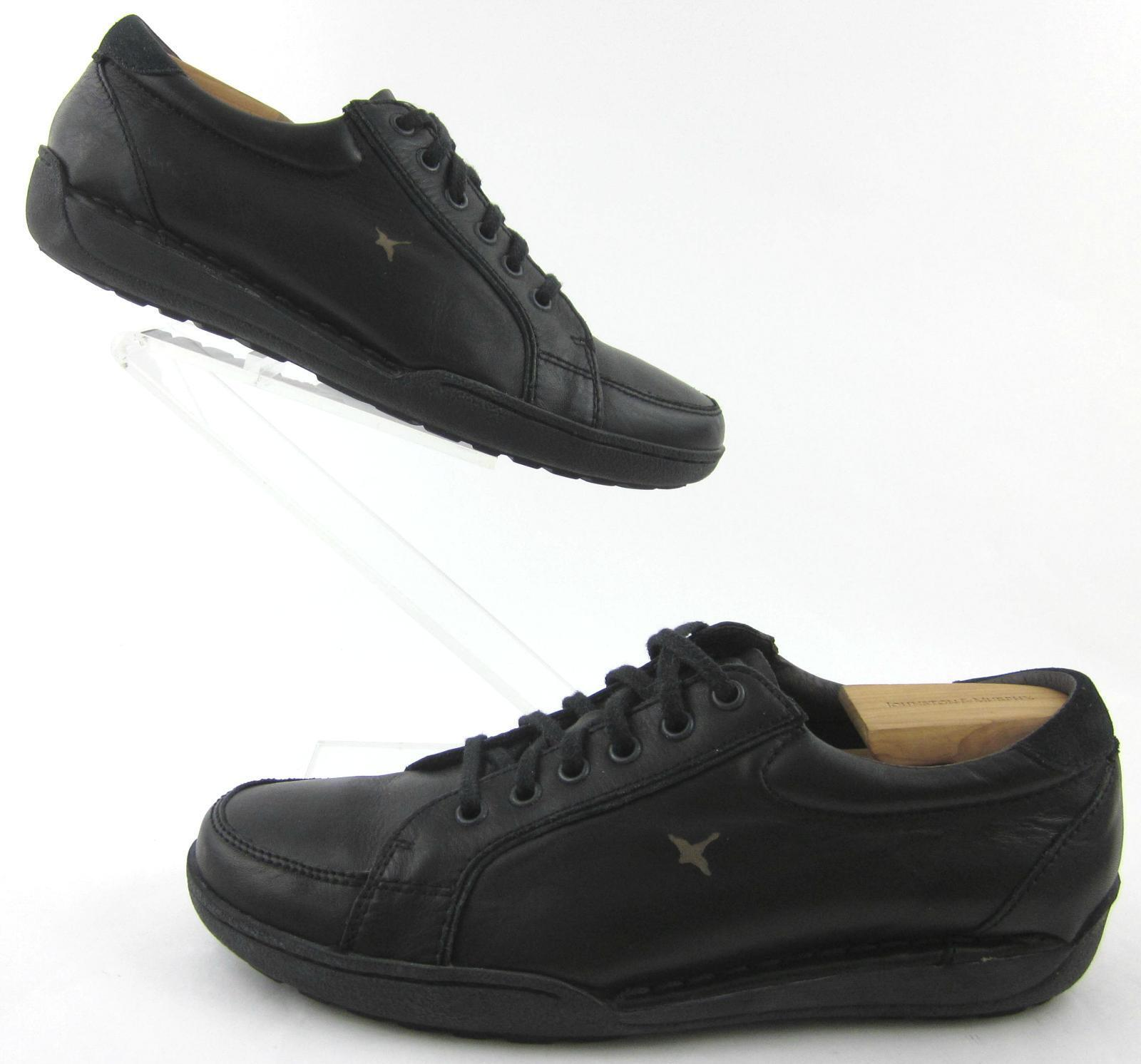 Pikolinos Moc Toe Lace Up Casual shoes Black Leather EU 43 Runs Big Fits US 10.5