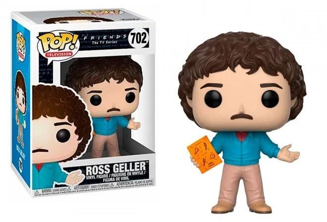Friends #702 - Ross Geller (80's Hair) - Funko Pop! Television - Brand New