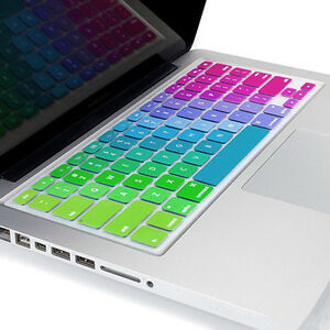 info for 53241 6006e Details about New Silicone Rainbow Keyboard Skin Cover For Apple Macbook  Air Mac 13