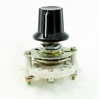 Plastic Knob 2p5t 2 Poles 5 Position Band Channel Rotary Switch, New, Free Shipp on sale