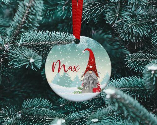 Personnalisé Arbre de Noel en céramique Babiole-Gonk design de Noël .1 Gnome