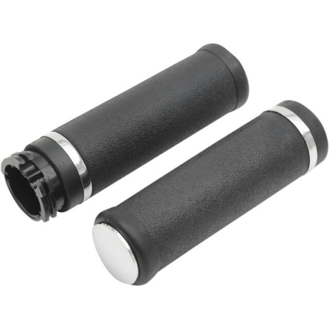 Hotop Grips With Accent Rings & End Caps For Harley-Davidson
