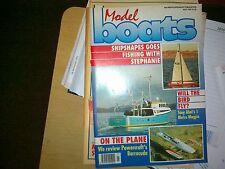 Modelli di barche rivista luglio 1991