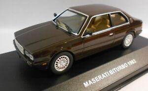 IXO-1-43-escala-CLC058-Maserati-bitururbo-Coupe-1982
