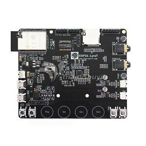 ESP32-LyraT Development Board Touch Physical Buttons WiFi Bluetooth Audio os12