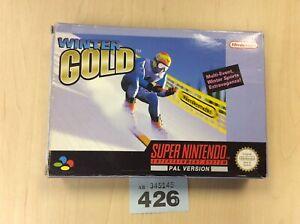 Super-Nintendo-Snes-Winter-Gold-Pal