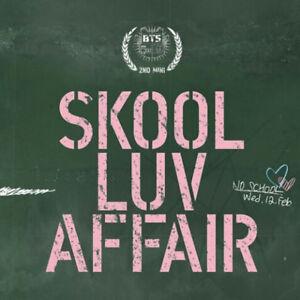 BTS-KPOP-BANGTAN-BOYS-2nd-Mini-Album-SKOOL-LUV-AFFAIR-CD-Photobook-Photocard
