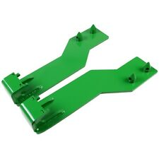 Tractor Loader Quick Tach Weld On Mounting Brackets For John Deere Green