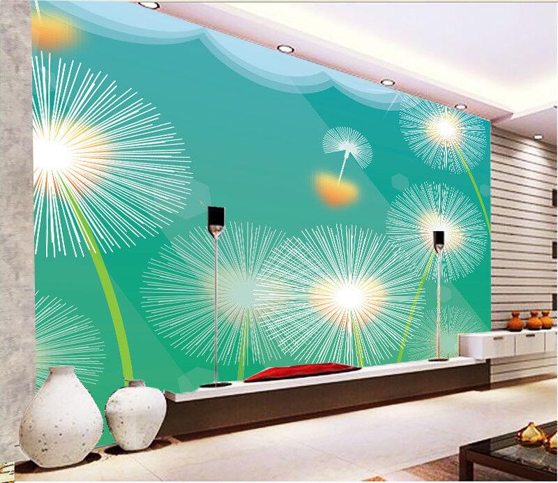 3D 3D 3D Löwenzahn Linien 743 Tapete Wandgemälde Tapete Tapeten Bild Familie DE Summer | Fuxin  | Verkauf  | Wunderbar  ef66b4