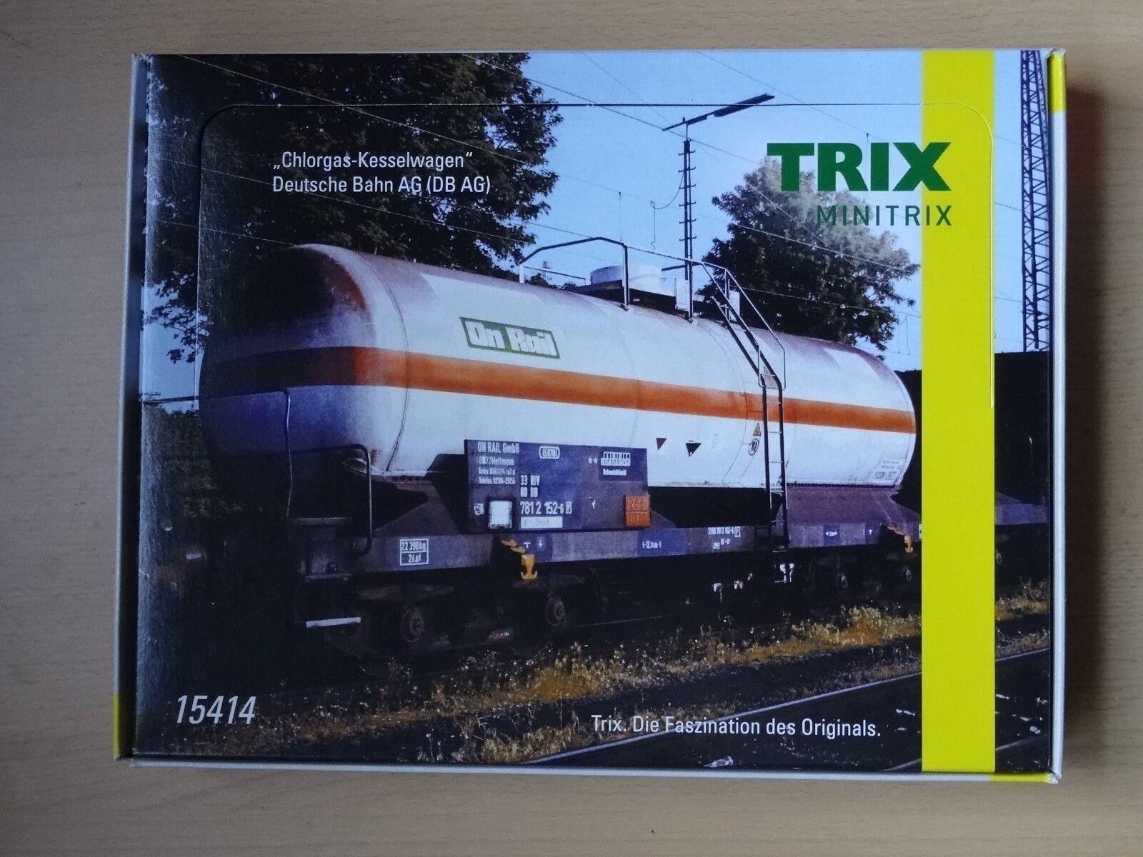Trix N articolo 15414 CALDAIA Wagenset delle DB AG 10 Pezzi Nuovo/Scatola Originale