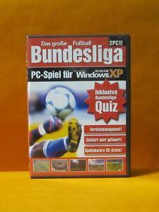 Fussball-Bundesliga-2x-PC-CD-ROM-Game-ohne-Altersbeschraenkung