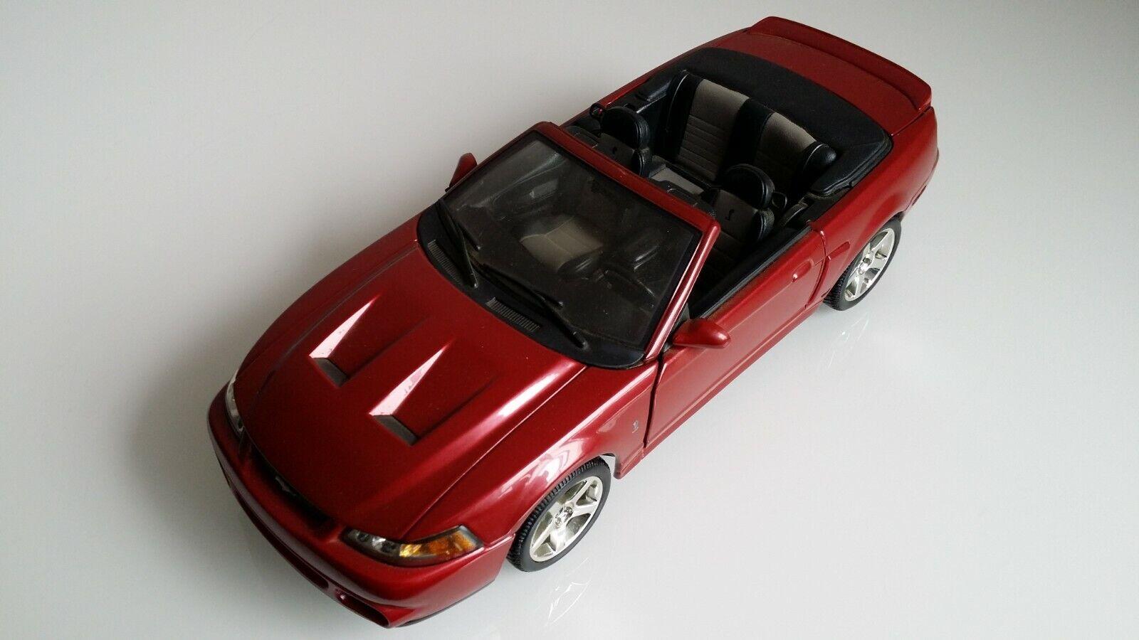 Maisto 2003 Ford Mustang Svt Cobra Converdeible 1 18 Rara
