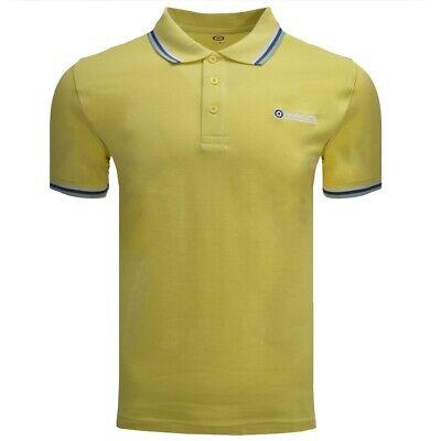 Lambretta Dark Shadow//Turquoise Retro Target Logo 100/% Cotton Polo Shirts