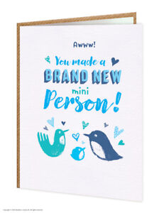 New baby boy blue congratulations greetings card funny cute comedy image is loading new baby boy blue congratulations greetings card funny m4hsunfo