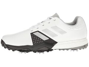 lowest price b768e 3255d Image is loading NEW-MENS-ADIDAS-ADIPOWER-BOOST-3-WHITE-GOLF-