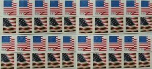 40 USPS Flag First Class Postage Forever Stamps, Stamp Design May Vary