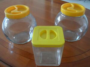 Vorratsgefäße (3 Stück)