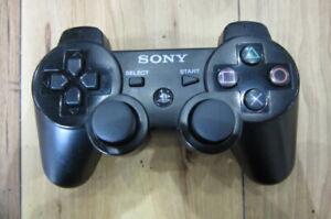 PlayStation-3-Controller-Black-Dualshock-3-Sixaxis-PS3-Sony-Japan-K730