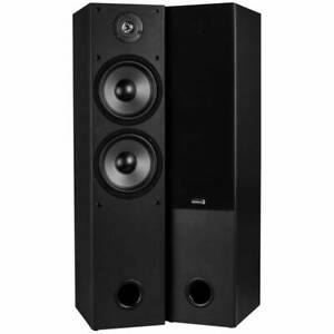 Dayton-audio-T652-Dual-6-1-2-034-2-Way-par-de-altavoces-de-torre