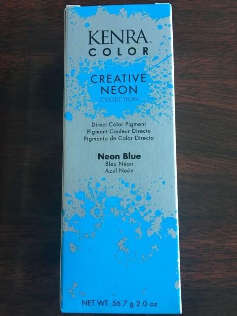 Kenra Color Creative Neon Blue 2 Oz Free Shipping