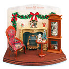 Reutter Porzellan Dispaly Christmas Christmas Evening Diorama Dollhouse 1:12