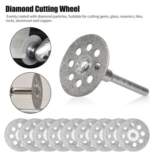 42PCS Diamond Grinding Carving Cutting Wheel Burr Bit Set For Dremel Rotary Tool
