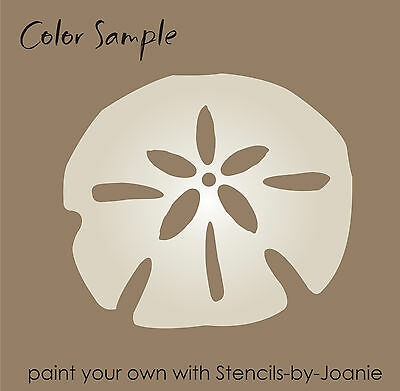 """Seashell Stencil Beach Sand Starfish Conch Snail Cone You Paint 4/"""" size shapes"""