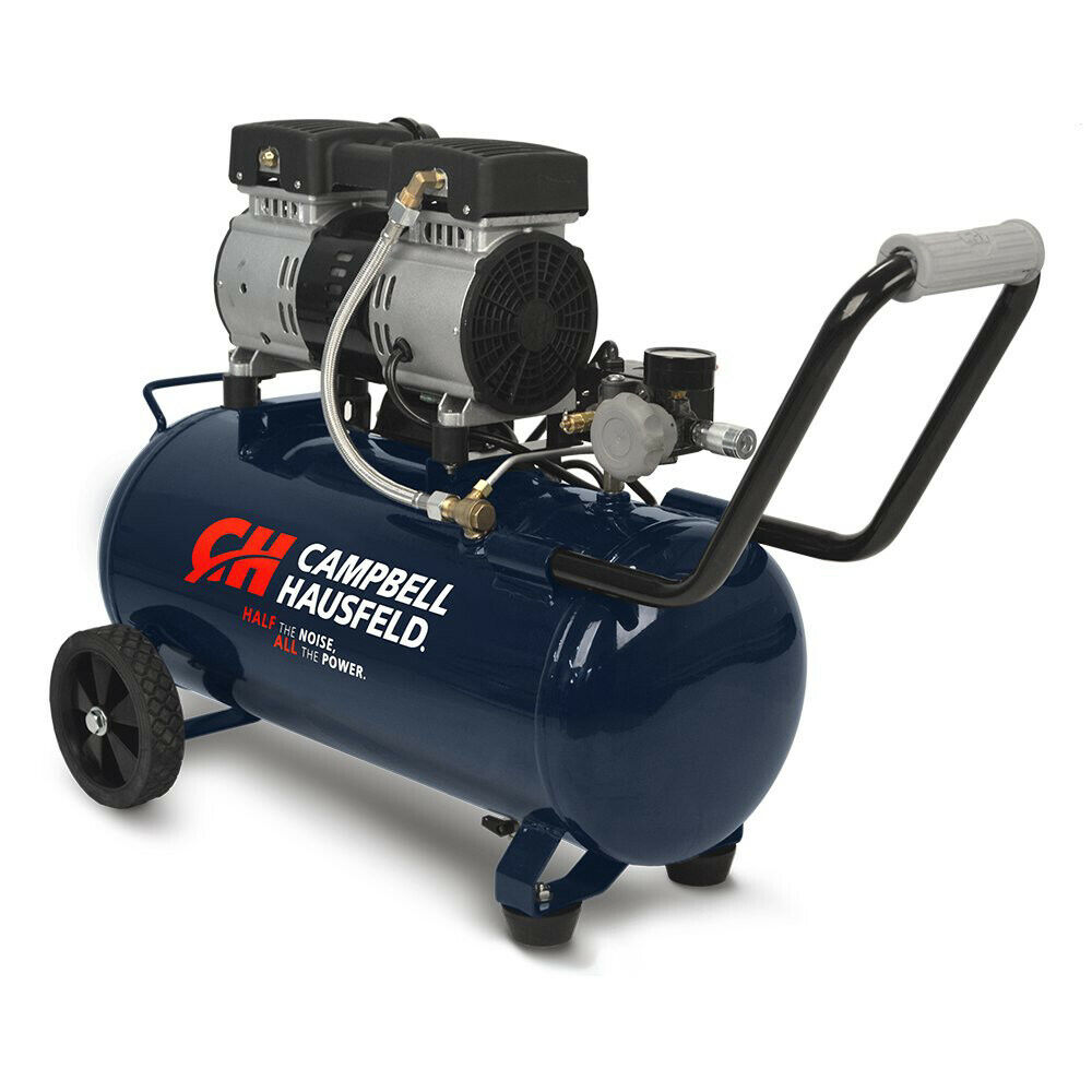 Campbell Hausfeld Quiet Series 1 HP 8 Gal. Hot Dog Air Compressor DC080500 New