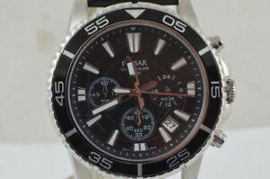 Pulsar-VD53-Men-039-s-Watch-42MM-Quartz-Chrono-Men-039-s-Watch-New-Unworn