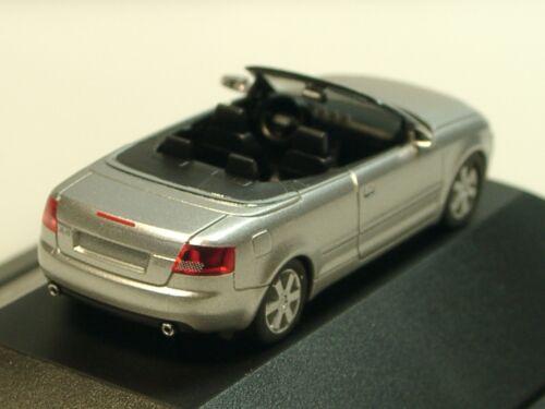 silber MJ 02 Herpa Audi A4 Cabrio PC 25754