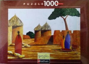Nathan-Puzzle-1000-Pieces-87477-Village-Dogon