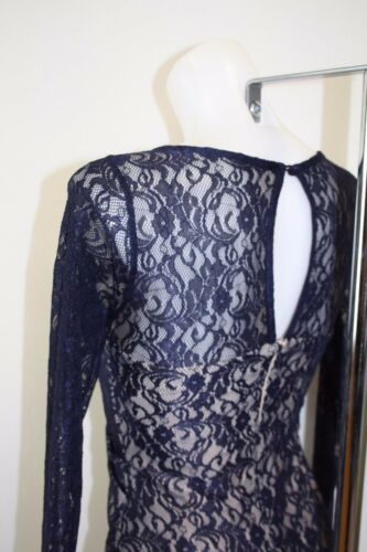 Ladies new ex coast lace maxi dress with split rrp £129 size 6 8 10