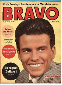 Bravo-Heft-12-1959-Brigitte-Bardot-ELVIS-PRESLEY-Alain-Delon-Erika-Remberg