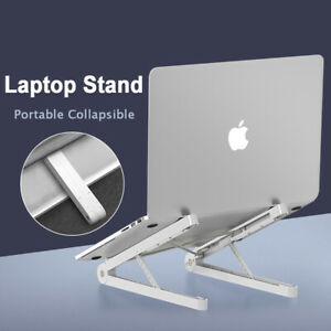 Foldable Laptop Stand For MacBook Dell HP Notebook Non-Slip Holder Adjustable