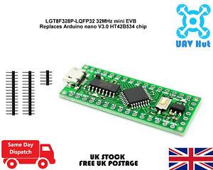 LGT8F328P-LQFP32-32MHz-miniEVB-replaces-Arduino-nano-V3-0-HT42B534-chip