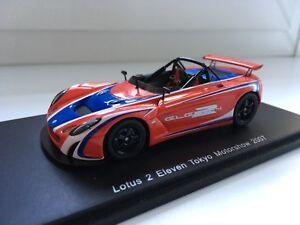 1:43 Spark - Lotus 2 Eleven Tokyo Motorshow 2007 | eBay