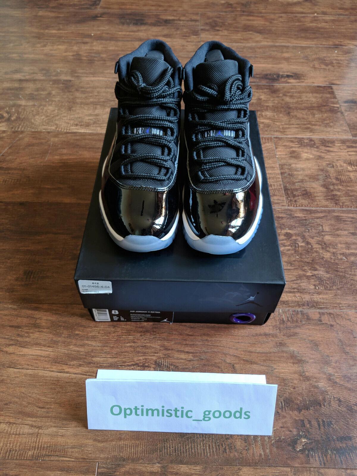 Nike Air Jordan Retro 11 Space Jam Size 8 - Brand New