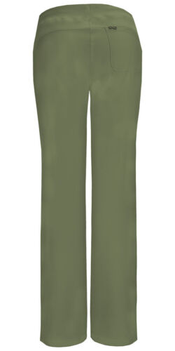 Scrubs Cherokee Low Rise Drawstring Pant 1123A OLPS Olive Free Shipping
