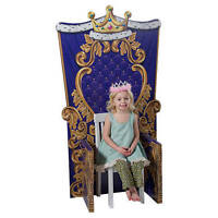 Queen Or King Child Size Chair Photo Prop Cardboard Cutout